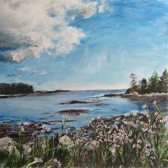 Jane Sherrill's View From Lane's Island, Vinalhaven